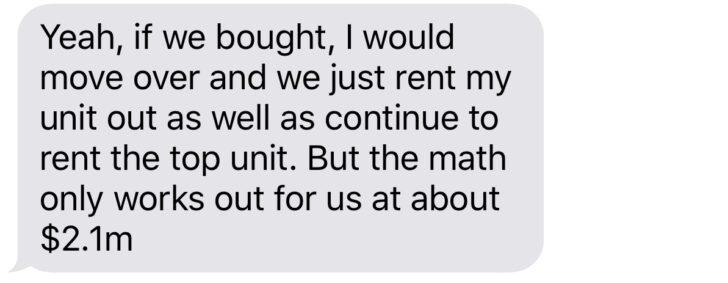 Mom and Dad Bank ofrecen $ 2.1 millones para comprar mi casa