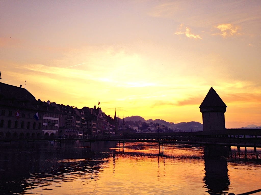 The Number Of Millionaires In The World Is Exploding - Lucerne Bridge, Switzerland