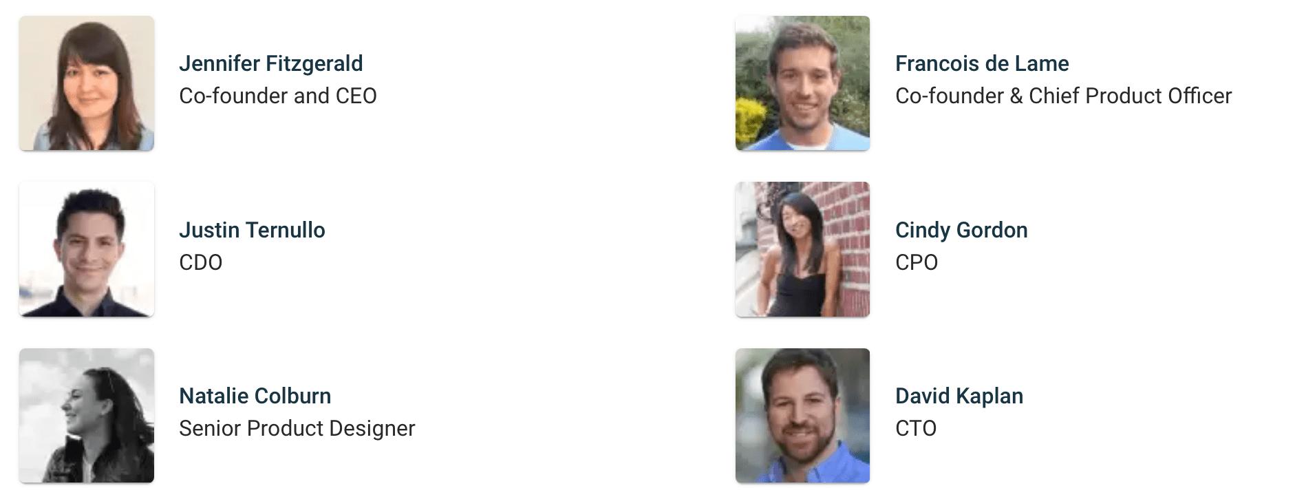 Policygenius Managment Team 2021