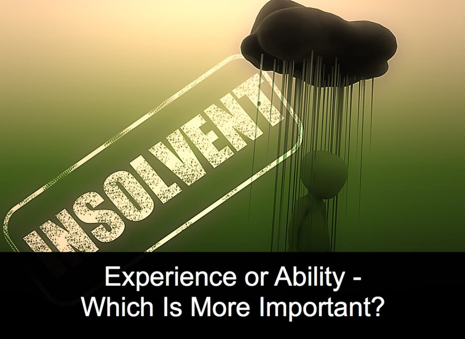 Experience or Ability