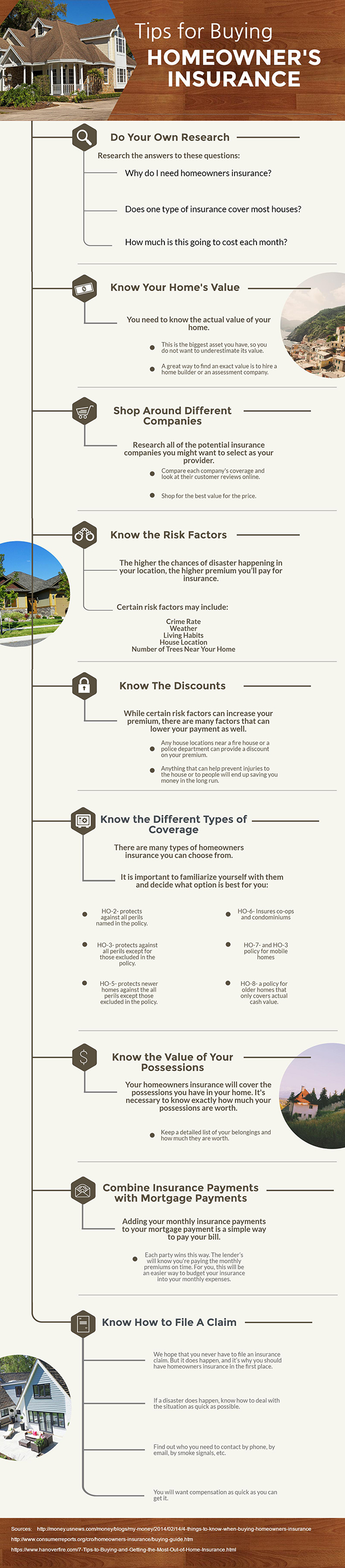 10 Need-To-Know Tips For Buying Homeowners Insurance
