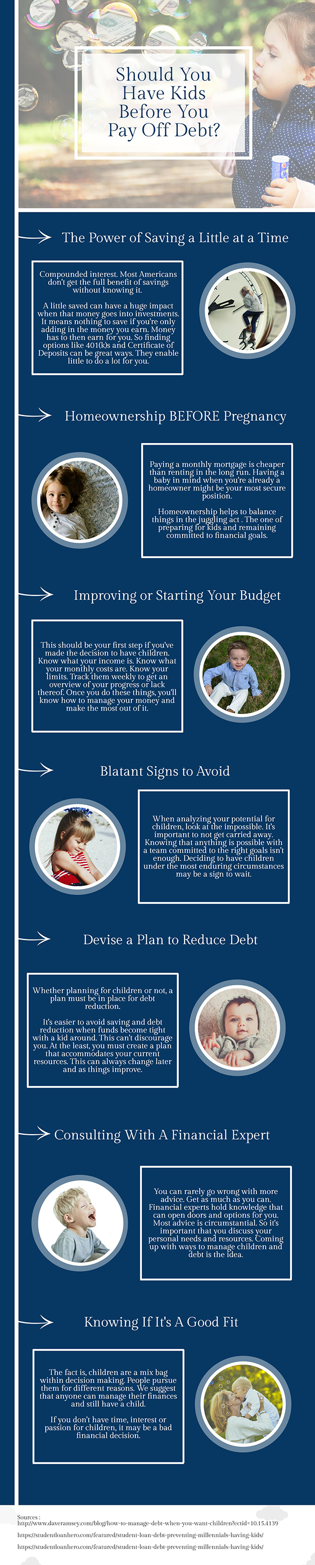 Should You Pay Off Debt Before Having Kids -infographic 1