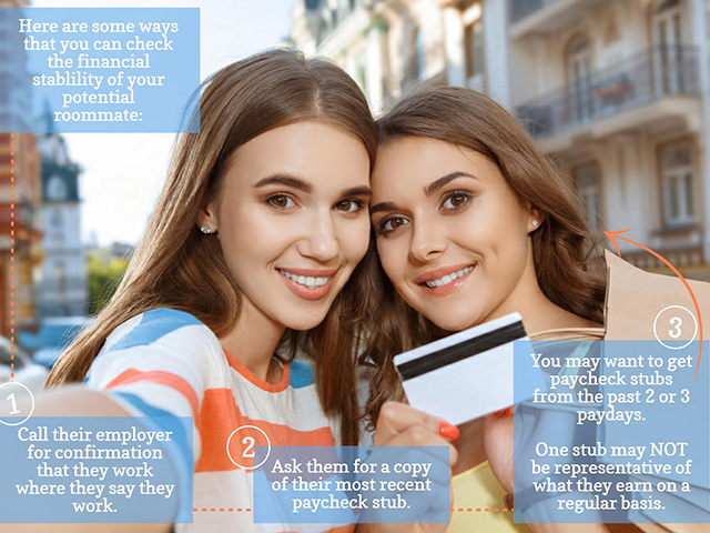 Finwell -5 financial tips for living with a roommate (1st image)