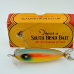 South Bend Crippled Minnow Top View