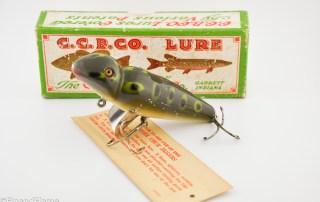 Frog Spot Creek Chub Jigger Antique Lure