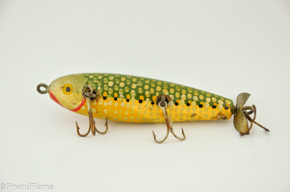 Jim Pfeffer Cripple Minnow Lure