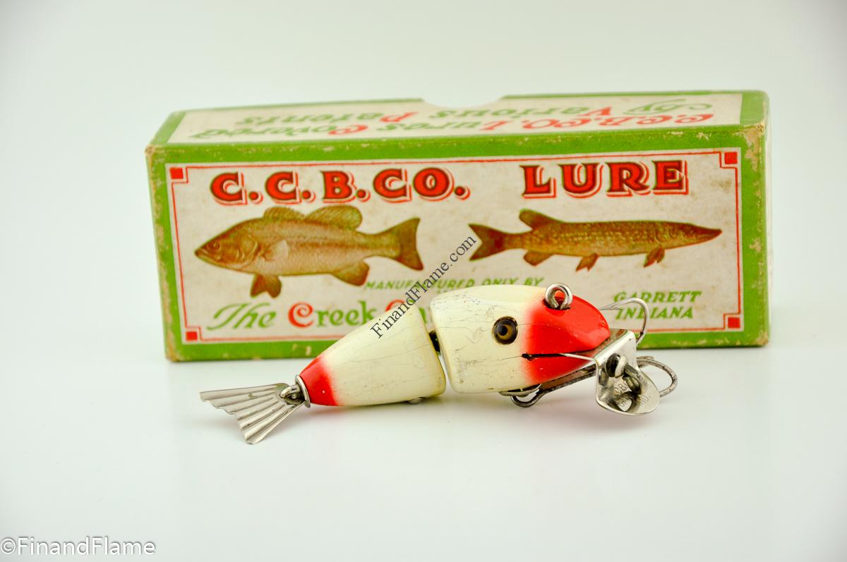 Red & White Baby Wiggle Fish Lure