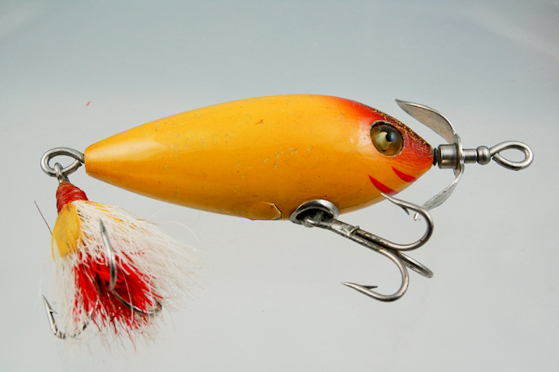 Heddon Bucktail Surface Minnow Lure 400
