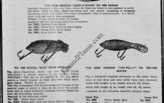 Heddon Dowagiac Minnows Newspaper
