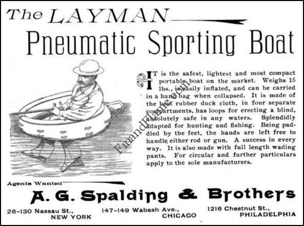 A.G. Spalding Pneumatic Sporting Boat