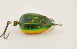 Pflueger Kent Floater Frog Antique Lure