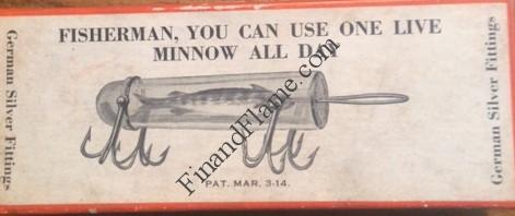 Detroit Minnow Tube Box Front