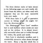 Shakespeare 1902 Catalog Sure Lure