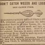 Brush Trolling Spoon 1880 Ad
