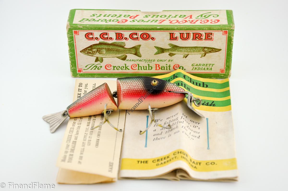 Creek Chub Wiggle Fish Lure