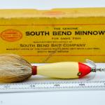 Red & White Combination Minnow Lure