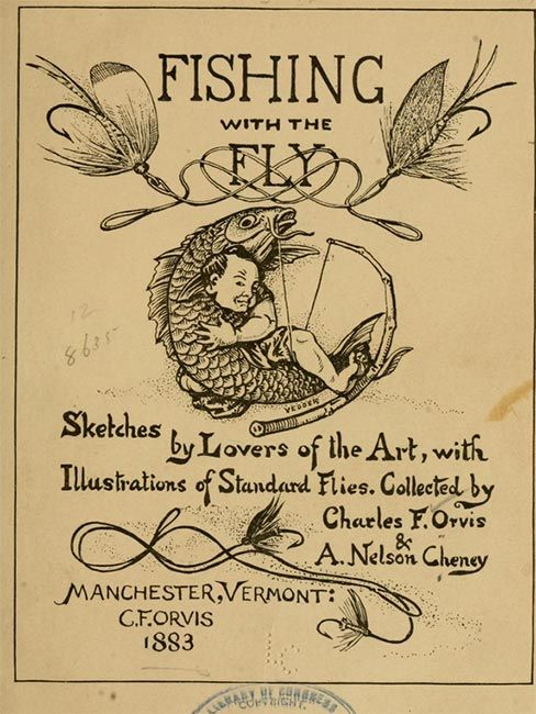 19th century fishing lures archives fin and flame for Fly fishing catalog