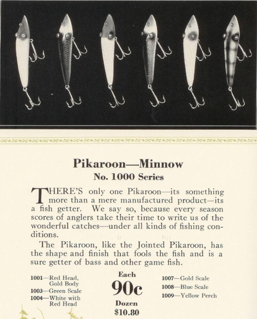 Moonlight Pikaroon Lure Catalog Cut