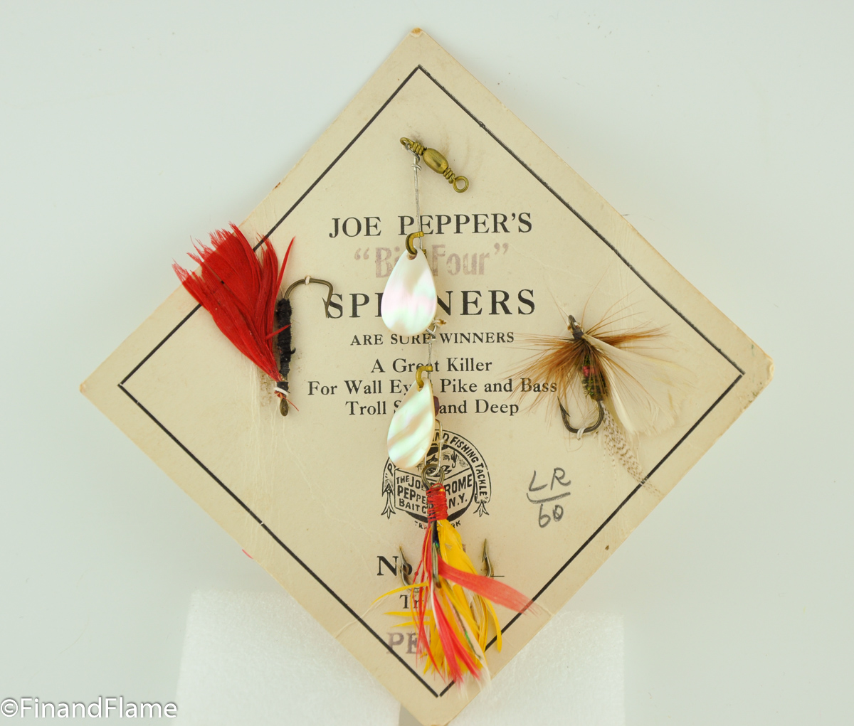 Joe Pepper Big Four Lure Card