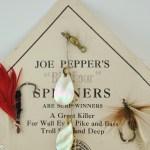 Joe Peppers Spinner Lure Assortment