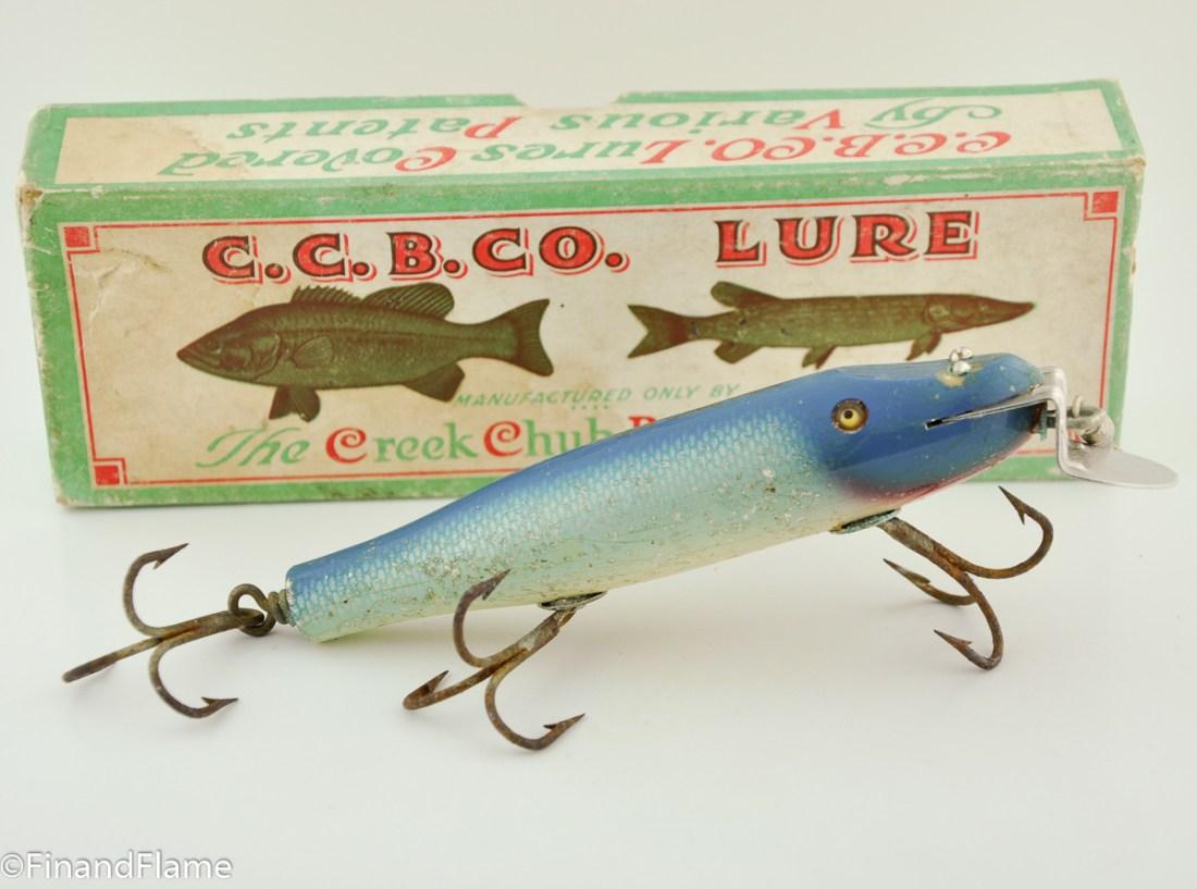 Creek Chub Snook Pikie Antique Lure
