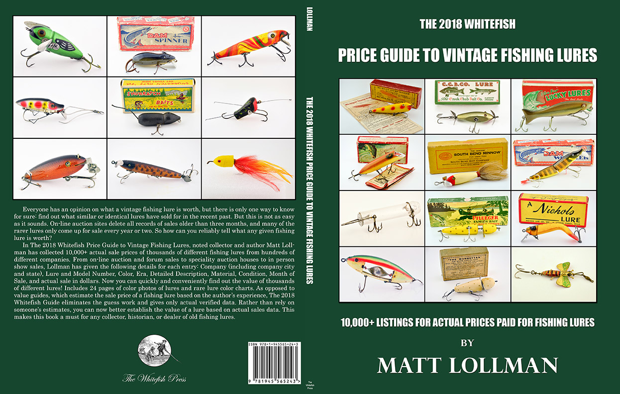 The 2018 Whitefish Price Guide to Vintage Fishing Lures - Fin ...