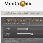 MiniCredit opis oferty i nasza opinia