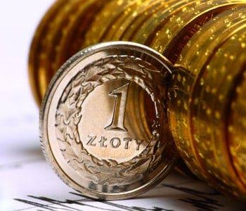 moneta jeden złoty