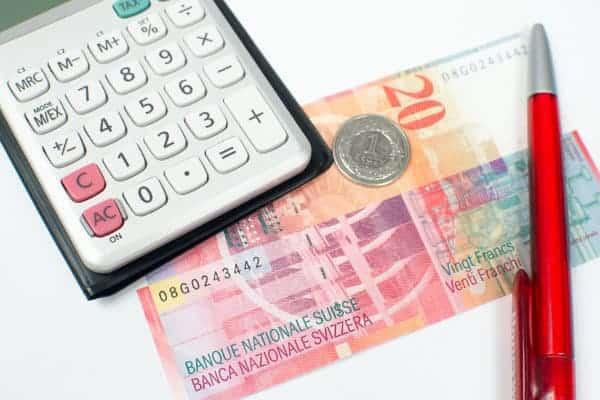 kalkulator i franki