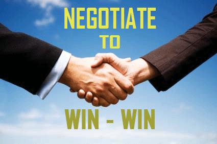 Aspectos clave a la hora de negociar.
