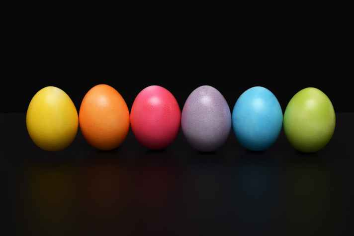 colored colorful decoration easter