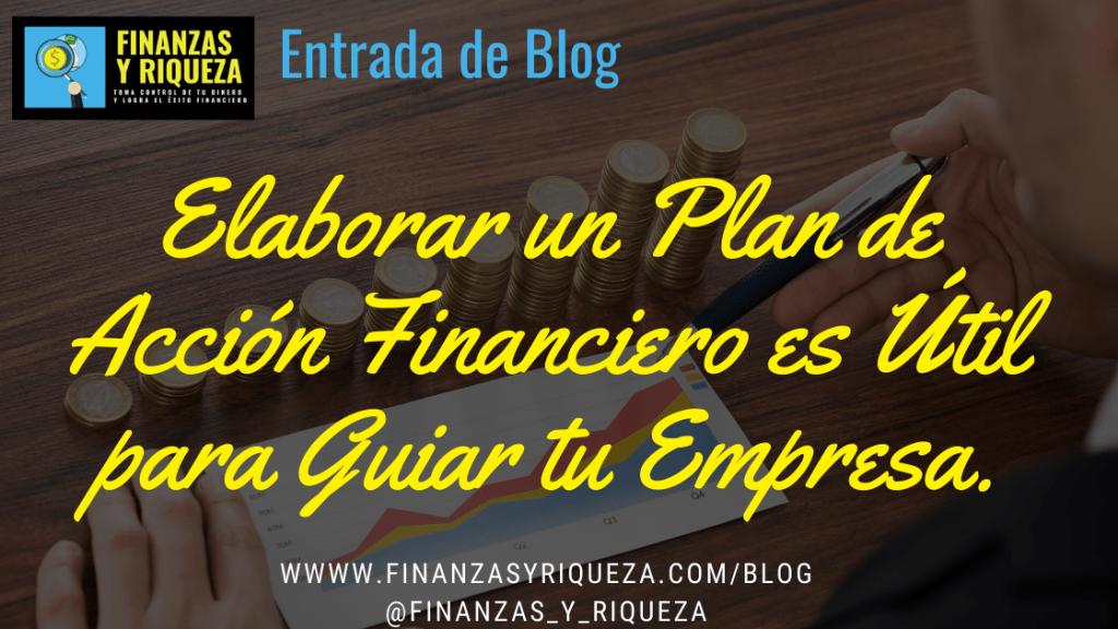 plan de accion financiero