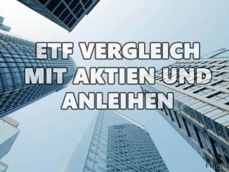 ETF Vergleich mit anderen Wertpapieren wie Aktien und Anleihen