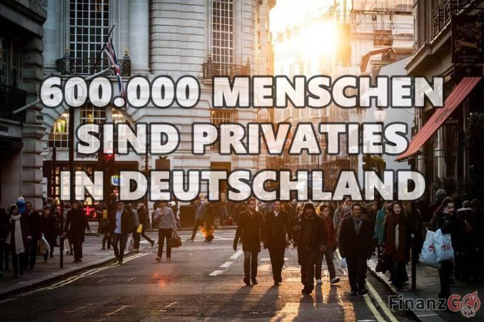 60000 Menschen sind schon Privaties