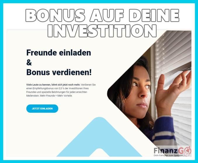 Bonus bei Estateguru für Immobilieninvestoren