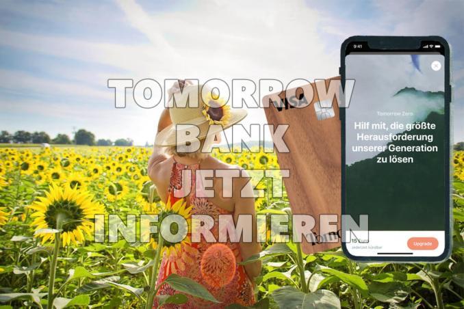 Tomorrow Bank jetzt informieren