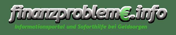 finanzprobleme.info - Informationsportal únd Soforthilfe bei Geldsorgen