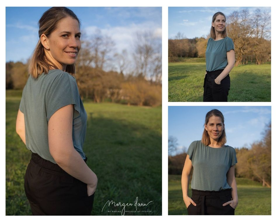 einfaches Shirt Clara nähen