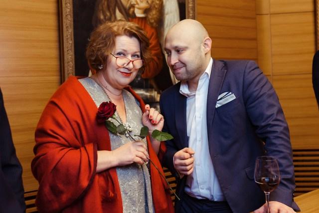 Коллекционер Ольга Варнавская и Станислав Скрипниченко