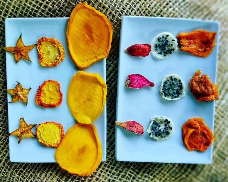 Frutas deshidratadas Finca Happy Fruit