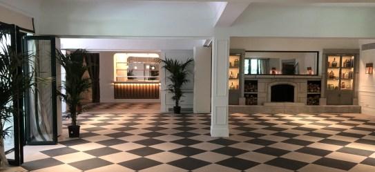 Los salones de la casa decorados por el estudio de interiorismo Sierra de la Higuera