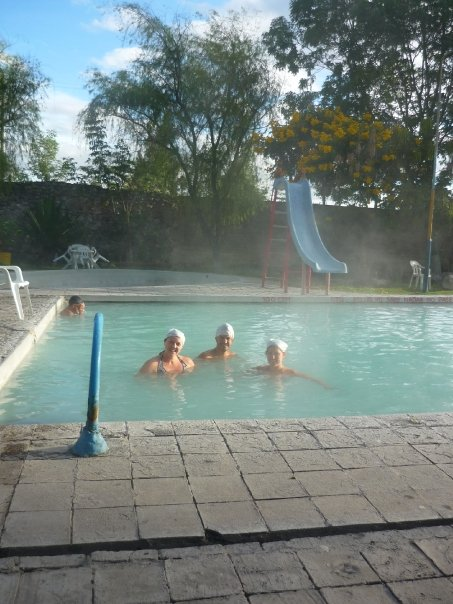 Thermal pools in Iza
