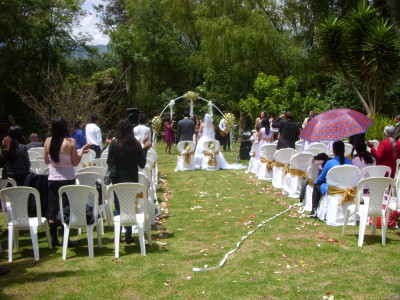 Wedding in the garden