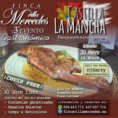 3er. evento gastronómico Castilla la Mancha