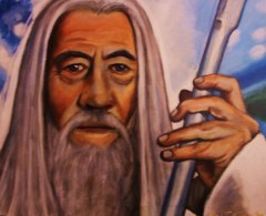 Ian McKellan as Gandalf