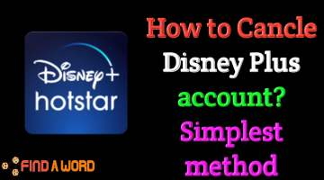 how to cancle disney plus