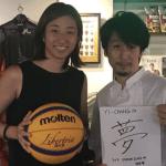 アスリート中華ダイニングイーチャンを営むGISHO様とバスケットボール3×3の根岸夢さんがスポンサー契約締結
