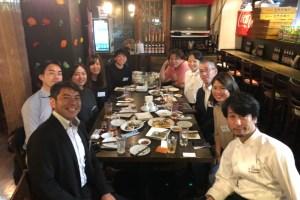 Find-FCのアスリートと支援企業様で第一回目懇親会を行いました!