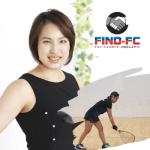 ラケットボールで世界選手権の日本代表を目指す葉梨 彩子(ハナシ アヤコ)選手がFind-FCにアスリート登録!