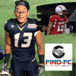 プロの選手となり、アメリカンフットボールを人気スポーツにすることを目指す岩本 卓也(イワモト タクヤ)選手がFind-FCにアスリート登録!